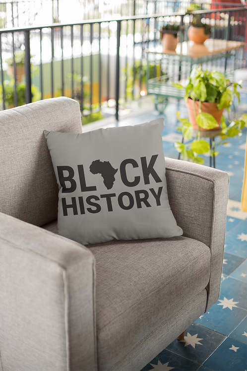 Black History Pillow