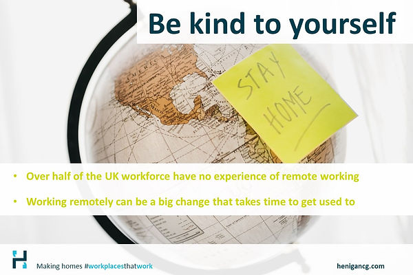 remote working, home working, making homes #workplacesthatwork