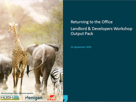 Return to the Office Workshop Outputs (Landlords and Developers)