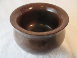"""4"""" Black Walnut Bowl"""