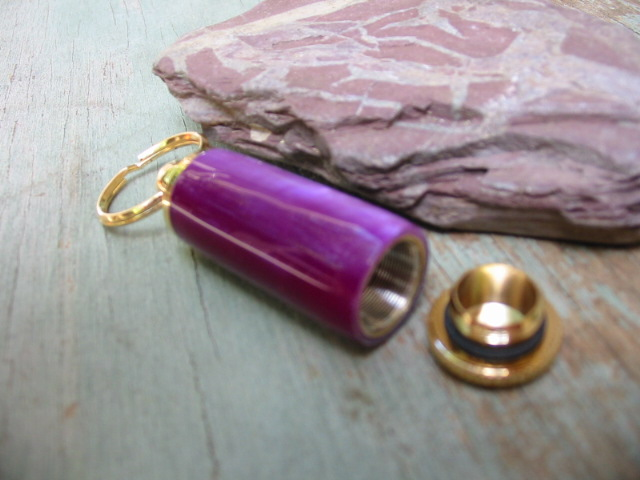 Acrylic pill holder