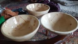 Spruce bowls
