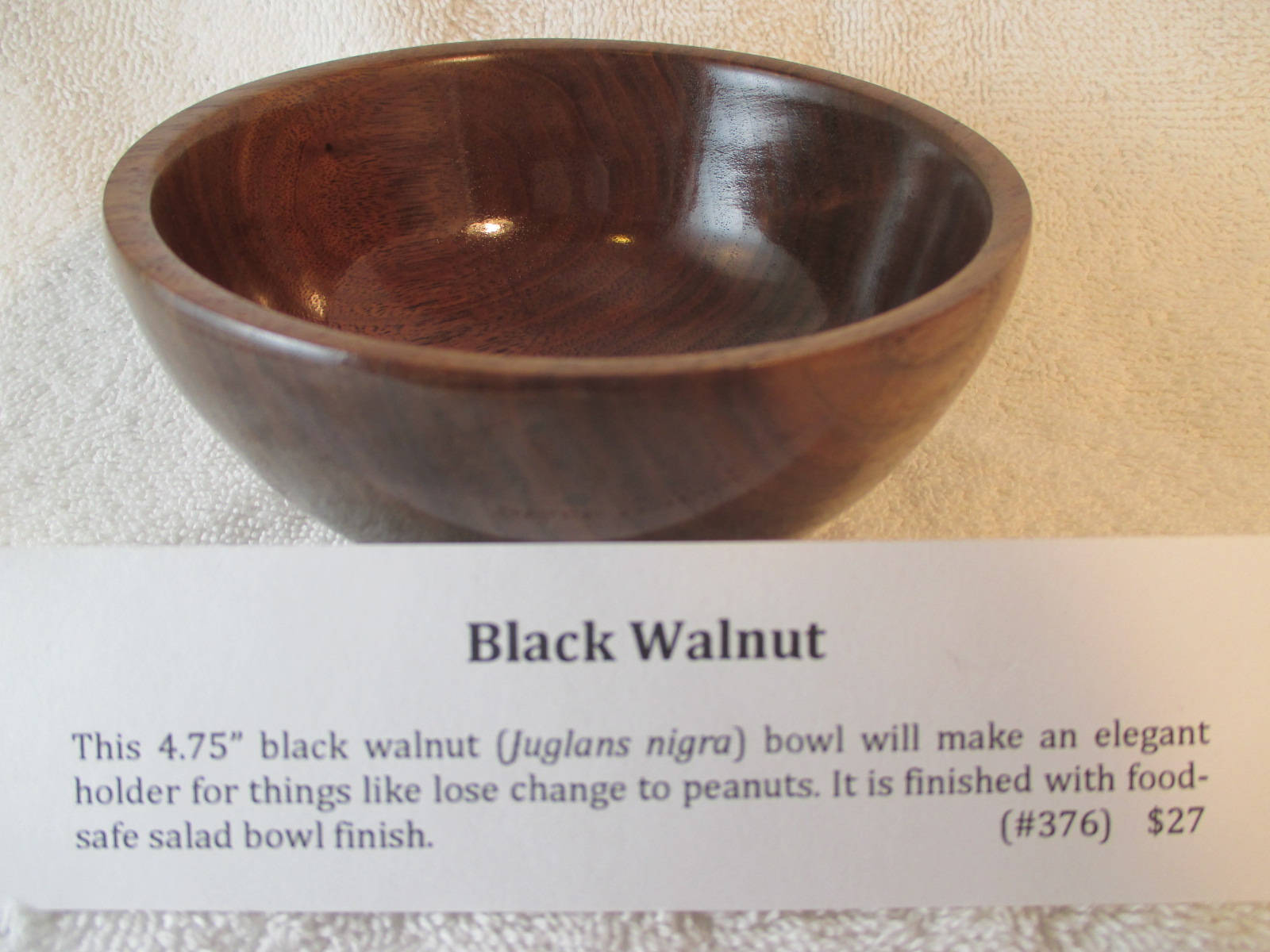 "4.75"" Black Walnut"