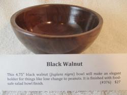 """4.75"""" Black Walnut"""