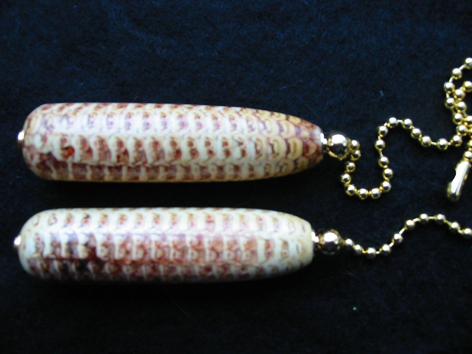 Corn Cob Fan-Light Pulls
