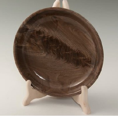 Walnut with Feather from Grinnell