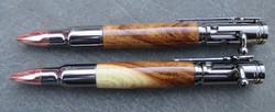 Bolt Action Spalted Oak Pens