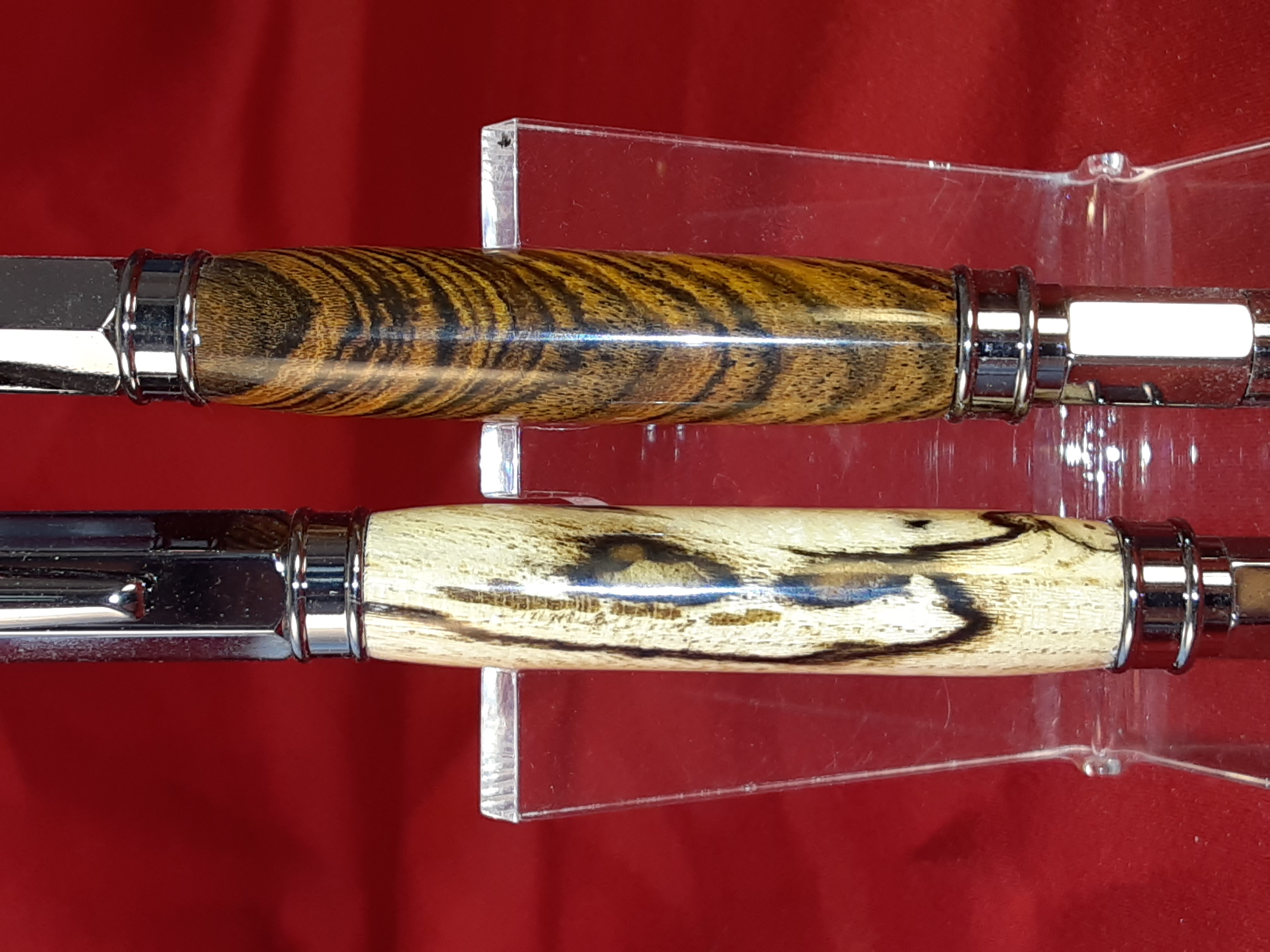 Spalted Hackberry & Bocote