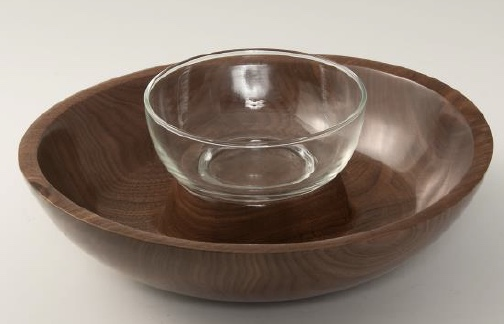 Walnut Serving Bowl