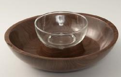 Walnut Serving Bowl