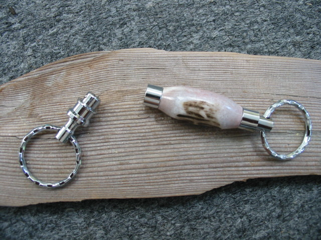Detachable Antler Key Ring