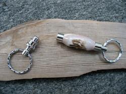 Detachable Antler Key Ring