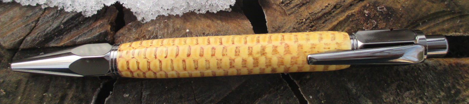 Vertex Click Corn Cob Pen
