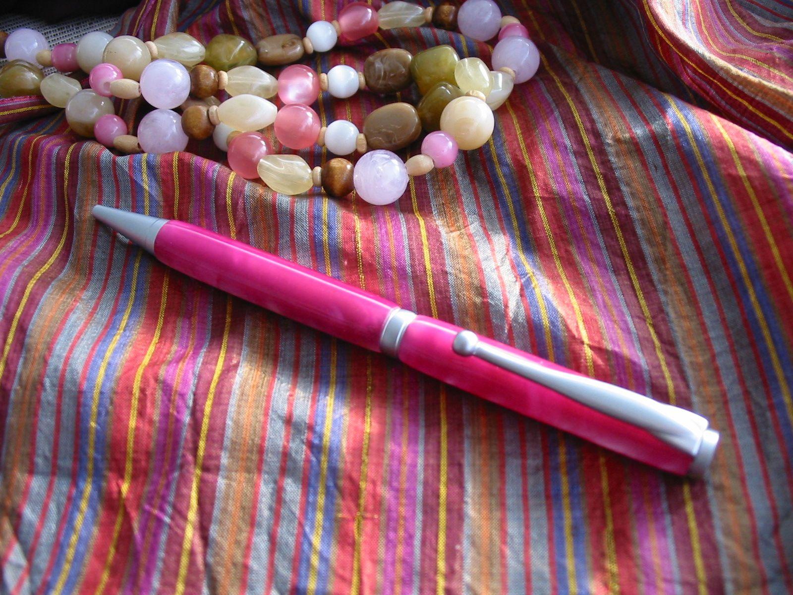 Pink Acrylic Slimline