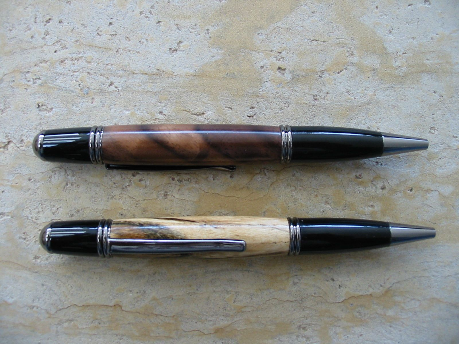 Walnut and Hackberry Gatsby Pens