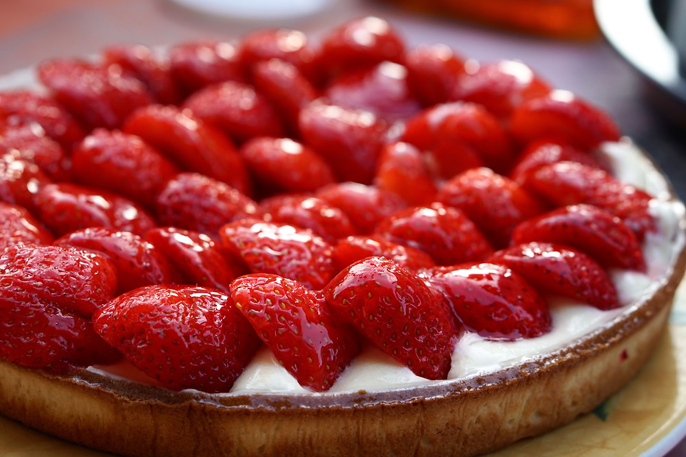 Photo of strawberry pie