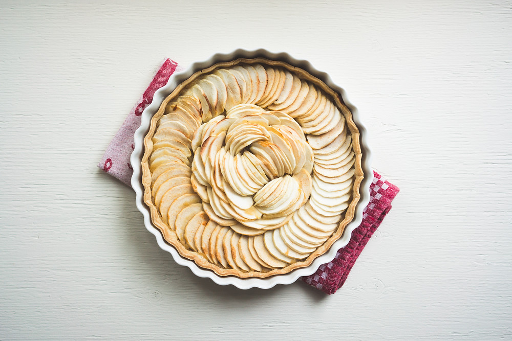 Photo of apple tart / pie
