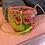 Thumbnail: MINI SAC PAILLE GYPSY forme bourse bandoulière
