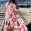 Thumbnail: ROBE LONGUE FLOWER POWER BLANC ROSE