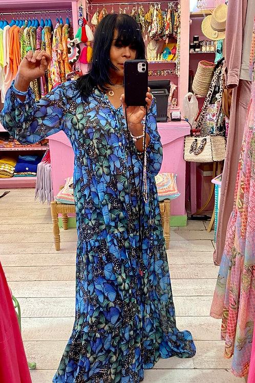 LONG DRESS DUBAI  BUTTERFLY