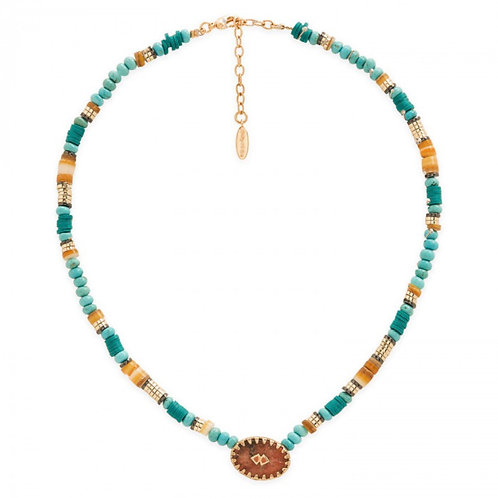 COLLIER BESSAME TURQUOISE  HIPANEMA