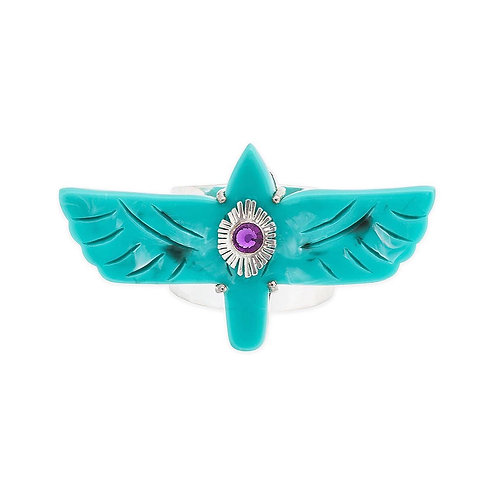 BAGUE CHICA turquoise