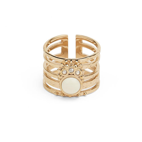 BAGUE WINONA GOLD HIPANEMA