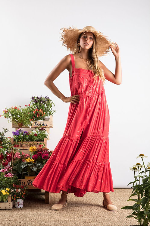 Long Dress Lucia Roma Red