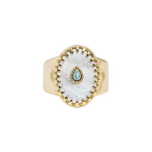 BAGUE ACHILLE WHITE HIPANEMA