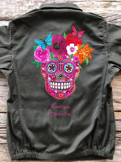 Skull Army Jacket