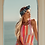Thumbnail: VALERIA LONG DRESS Marbella mix rainbow