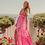 Thumbnail: CATALINA long dress Gigham pink