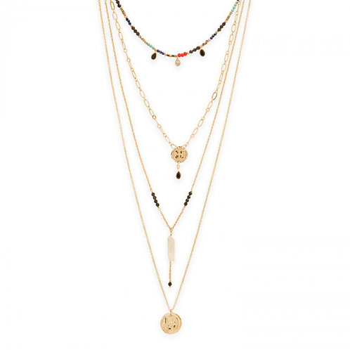 COLLIER PEPITE GOLD HIPANEMA
