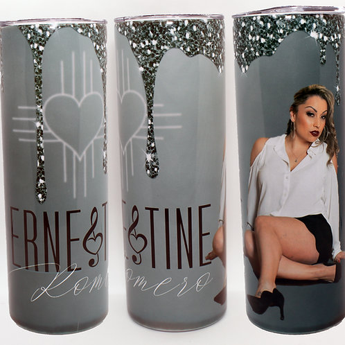 20 ounce Tumbler with straw