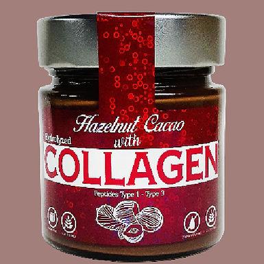 Kolajenli ve Stevialı Kakaolu Fındık Kreması