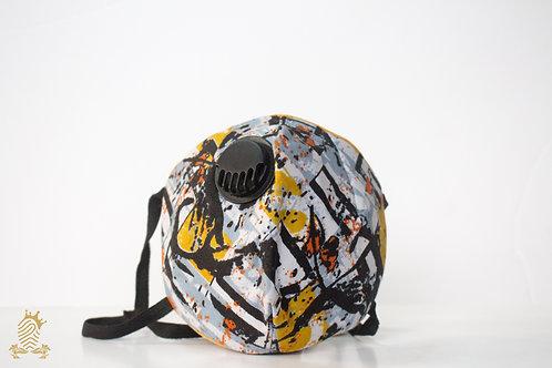 Barimah Shield Mask Graffiti1