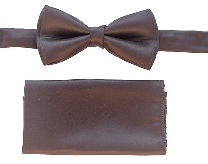 Black Satin Bow-tie