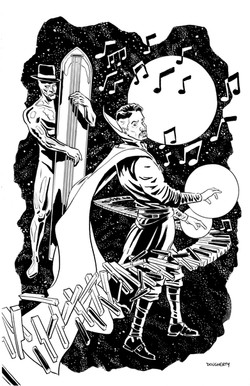 Doctor Strange & Silver Surfer Jazz