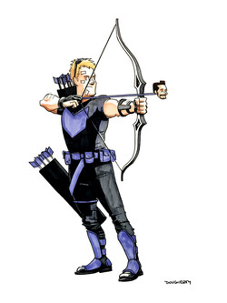 Hawkeye with Beardo arrow
