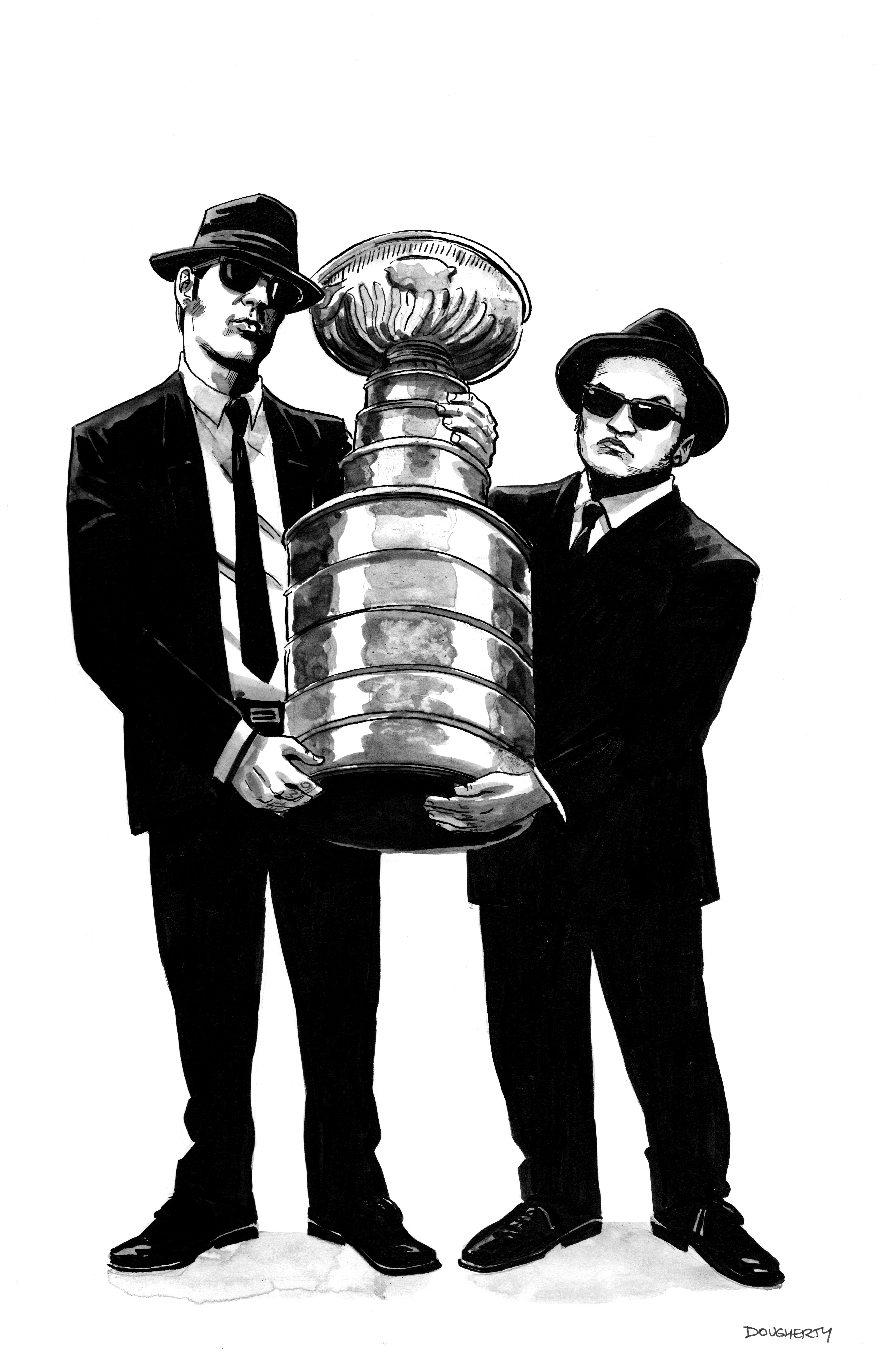 Blues Brothers Stanley Cup