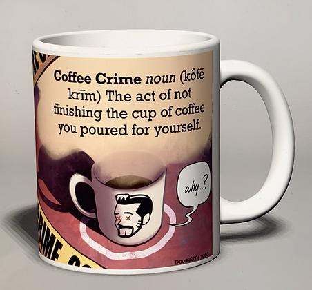 Beardo Coffee Crimes Mug