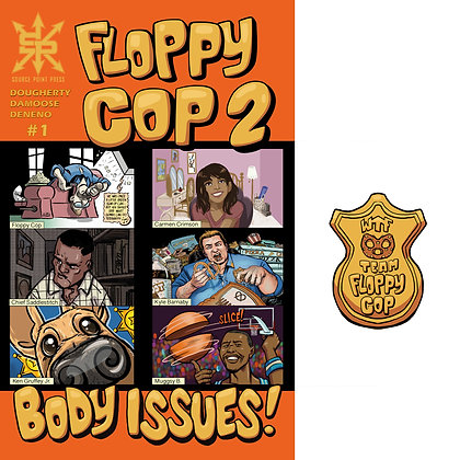 Combo Pack Pin+Floppy Cop 2 #1