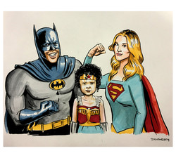DC Trinity family