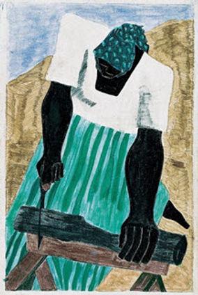 Harriet Tubman Series, No. 7 (1940)