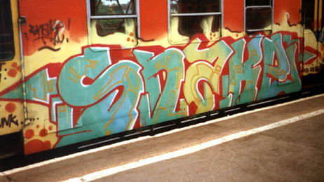 """Highlights From Bishop Gallery's New Show, """"Graffiti vs. Street Art: A History"""""""