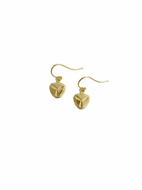 18ct GOLD PLATED EARRINGS