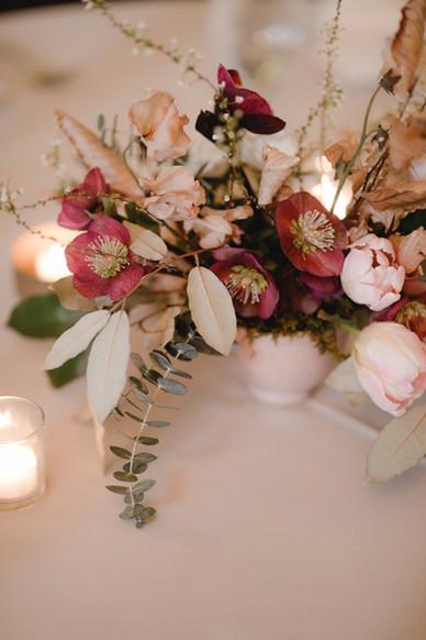 samara_floral_wedding_flowers_bride_groom_couple_bouquet_biltmore_ballrooms_beautiful_romantic_modern_romance_arrangement_centerpiece_hellebores_tulips