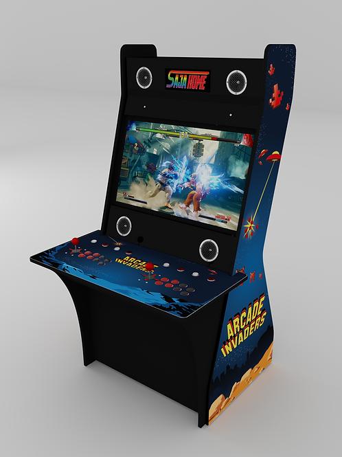 SAJA Home - Arcade invaders