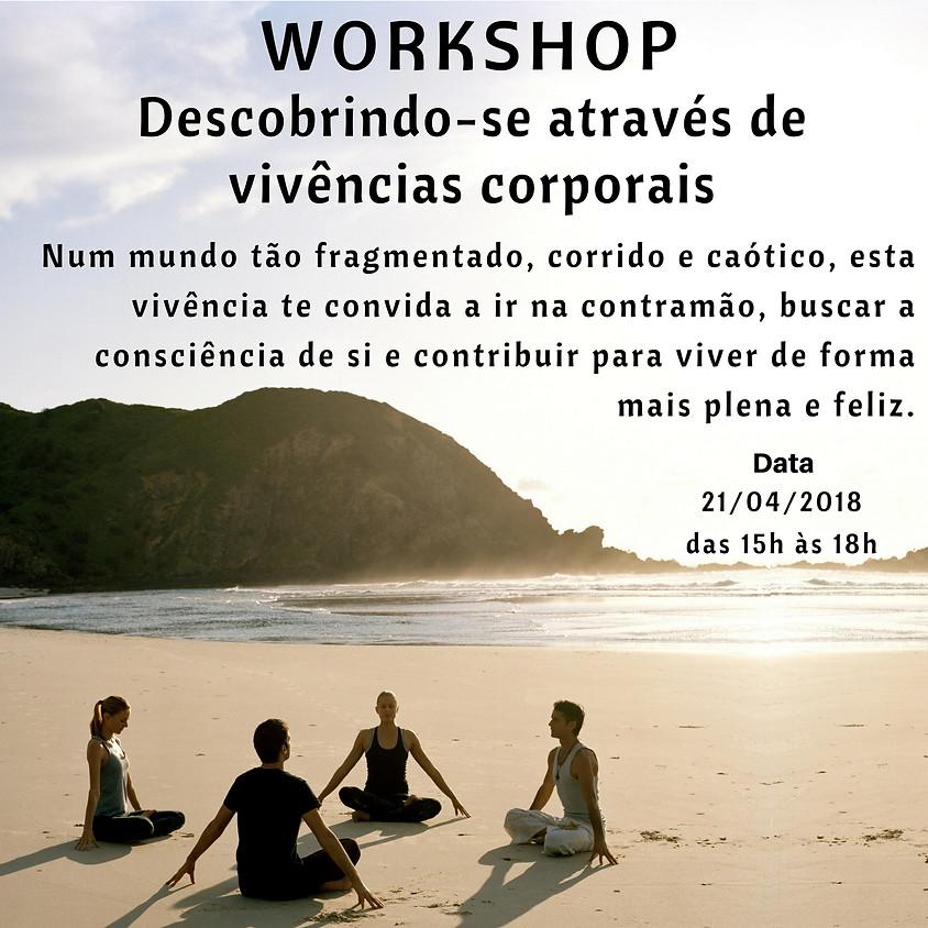 Workshop - Descobrindo-se através de vivências corporais.