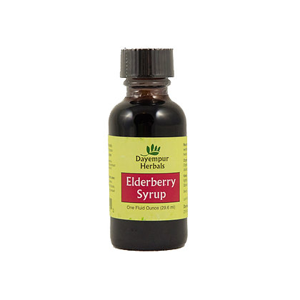 Elderberry Syrup 1oz